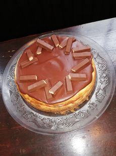 Cheesecake - kit kat