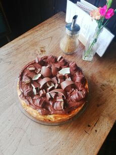 Kinder bueno - cheesecake